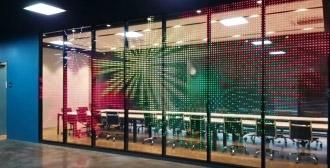 Pyeongtaek G-SMATT Factory_G-Glass_Media Wall(G-Wall)